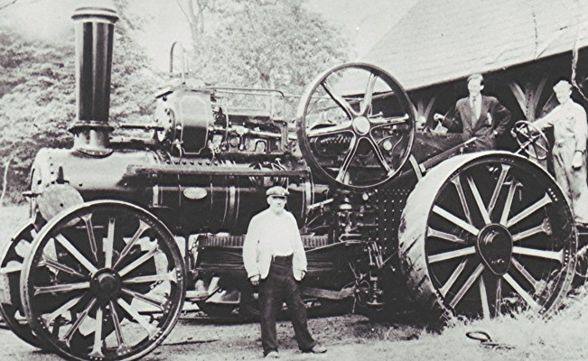 Frank Pratley's steam engine | Geoff Webb