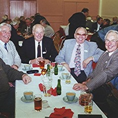 Left to right: Alan French, John Archer, Norman Shepherd, Jim Smith, John Tingey and Roy French | Geoff Webb
