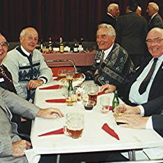Left to right: John Tingey, Jim Smith, Norman Shepherd, John Archer, Alan and Roy French. | Geoff Webb