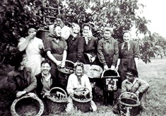 Russell Harborough fruit pickers