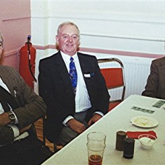 Left to right: Peter Fry, Colin Alexander and Alf Day | Geoff Webb
