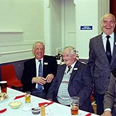 Left to right: Peter Fry, Derek Elsom, George Allen, Brian Males, Geoff Hobbs | Geoff Webb