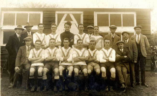 An early football club in cheshunt