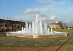 Letchworth fountain