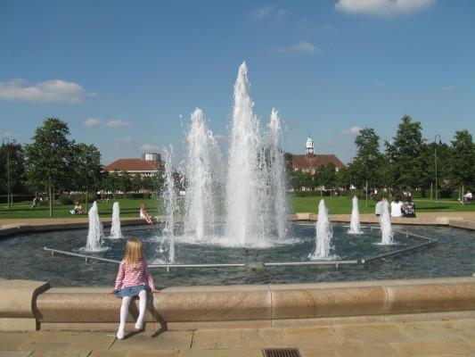 The Fountain of LGC