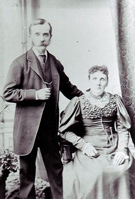 George & Louise Quick   Geoff Webb