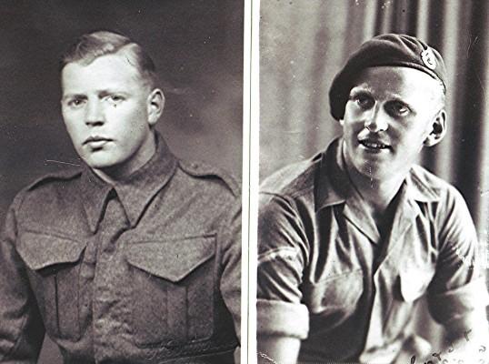 'Bunny' and 'Snowball' Nunn during World War II | Geoff Webb