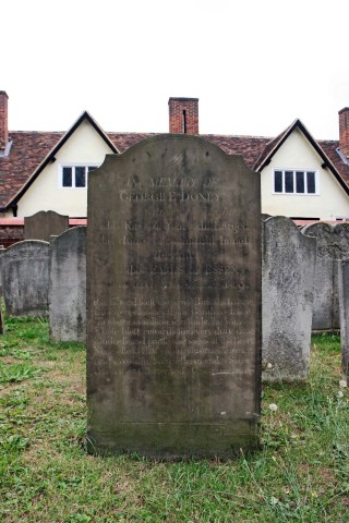 Doney's gravestone | Hertfordshire Archives and Local Studies