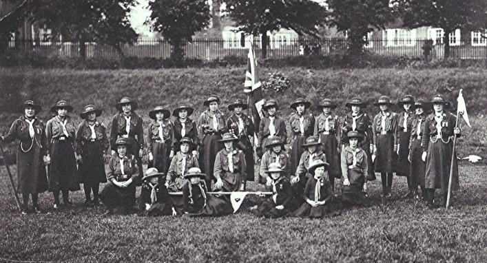 Girl Guide group, c.1916 | Geoff Webb