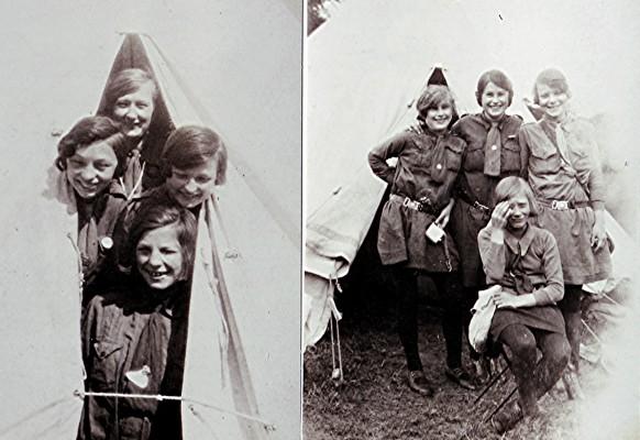 Girl Guide Camp, 1930 | Geoff Webb
