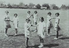 Girls School Dancing Class