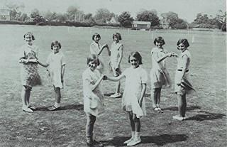Girls School Dancing Class   Geoff Webb