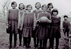 Girls School Netball Team 1932