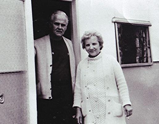 Ralph & Gladys Simms | Geoff Webb