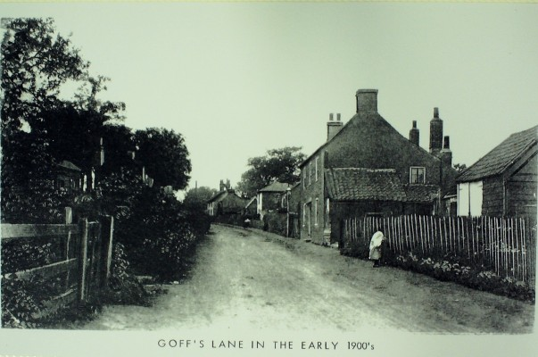 Goffs Lane, early 1900's | Iain Bickerton