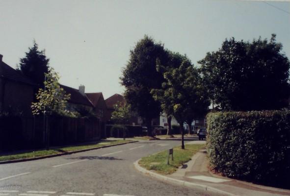 The same location, 2000.   Iain Bickerton
