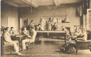 Recreation Room, Knebworth VAD hospital | Courtesy of David Stewart