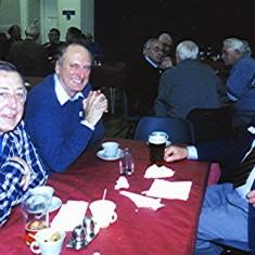 Left to right: John Bower, Alistair Govan, Harry Hobbs.   Geoff Webb