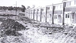 Grove Hill contruction site, 1967