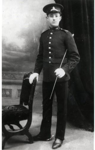 Gunner Saville c1912 | By J.D. Sainsbury