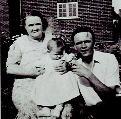 Charlotte Gurney with her son and granddaughter, c.1952 | Geoff Webb