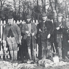 Gamekeepers at Ashridge, 1880 | Hertfordshire Archives and Local Studies, Albury the Open Village