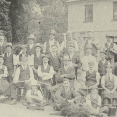 Gardeners at Porters, Shenley, 1900 | The Book of Shenley