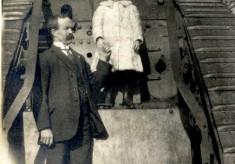 Tank in Cedars Park, Cheshunt