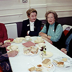 Left to right: Delia Robertson, Beryl Reading, Joy Shepherd, Joan Penny and Lily Robertson | Geoff Webb