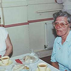 Iris Brett (left) and Margaret Neville | Geoff Webb