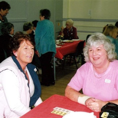 Fay Campbell (left) and Daphne Herring. | Geoff Webb