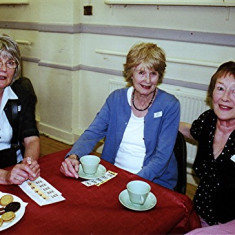 Sisters Rosalie & Kath Brown (left) with Yvonne Anderson. | Geoff Webb