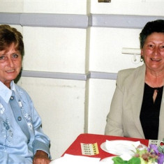 Daphne Mason (left) and Pat Hallam. | Geoff Webb