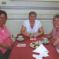 Pat Hallam (left), Christine Scrivener and her sister Pam. | Geoff Webb
