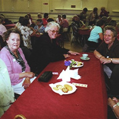 (Left to right): Barbara & Rita Walton, Betty Winch, Ann Flitton, Veronica Hedges. | Geoff Webb