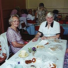Left to right: Gladys Austin, June Honeywood, Peg Field, Evelyn Austin | Geoff Webb