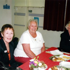 Yvonne Anderson (left), Annie Fensom (centre) and Betty Winch. | Geoff Webb