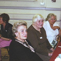 (Left to right): Yvonne Anderson (rear), Gladys Austin, Peg Field, Eileen Austin. | Geoff Webb