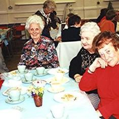 Left to right: Jean Smith, Nancy Draper, Freda Brewer, Mollie Powell | Geoff Webb