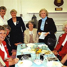 Left to right: Iris Reading, Betty Pratley, Rene & Edna Fensome, Edna Peacock, Gwen Knight, Ruby King. | Geoff Webb