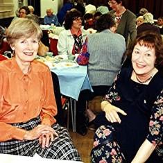 Kathleen Brown (left) and Yvonne Anderson | Geoff Webb