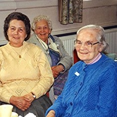 Left to right: Annie Taylor, Beatrice Rolt and Bessie Quick | Geoff Webb