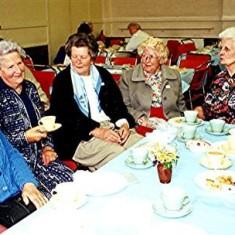 Left to right: Bessie Quick, Daphne Mills, Freda Millard, Jean Smith, Nancy Draper. | Geoff Webb