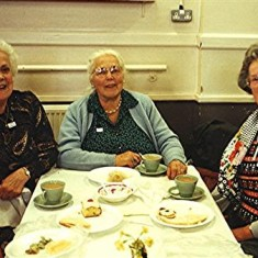 Left to right: Delia and Lily Robertson, Margaret Stevens. | Geoff Webb