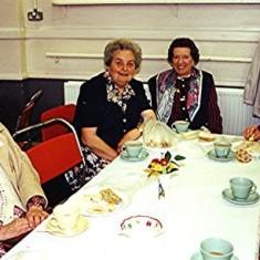 Left to right: Elsie Austin, Mildred Cook, Vera Luck, Jean Hall. | Geoff Webb