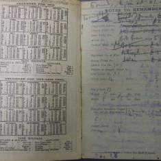 Calendars for 1915 and 1916 alongside