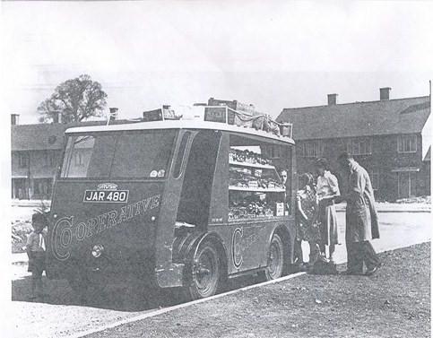 Grocery van 1947 | Bob Nunn