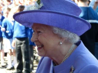 The Queen's visit to Hitchin