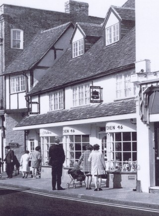 Old Town High Street shops, 1968