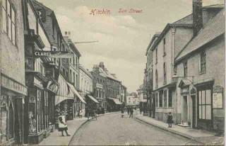 Sun Street, Hitchin, c.1905 | HALS